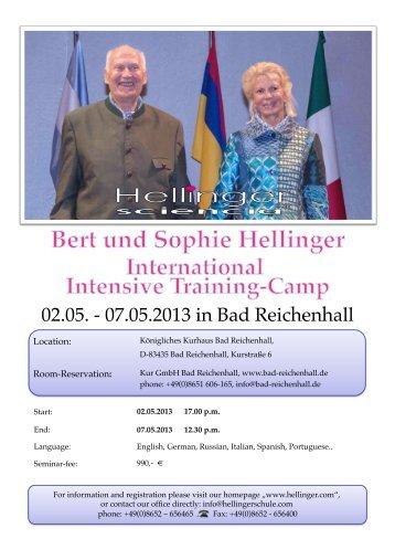 02.05. - 07.05.2013 in Bad Reichenhall - Hellinger.com