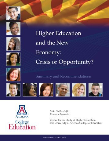 Higher Education and the New Economy: Crisis or Opportunity?