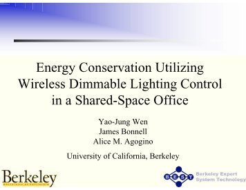 Energy Conservation Utilizing Wireless Dimmable Lighting Control ...
