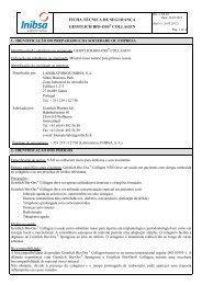 ficha técnica de segurança geistlich bio-oss collagen - VectWeb SM