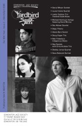 Our 36th Year - Issue 2 – March/April 2008 ... - Yardbird Suite