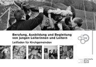 Leitfaden junger Leitender - Kirche + Jugend