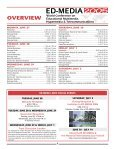 pre-conference tutorials & workshops - Association for the ... - Page 3