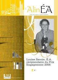 décembre 2006 - Ordre des évaluateurs agréés du Québec