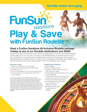 FunSun Roulette - Your Passport to all things Travel