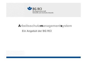 Ein Angebot der BG RCI – Vortrag von Frauke Strohmeier