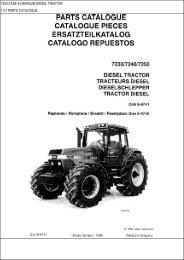 7230 case ih magnum diesel tractor 1-01 parts catalogue