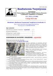 Konfraternia Turystyczna - Wyższa Szkoła Turystyki i Hotelarstwa