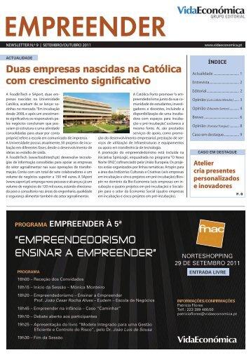 """EmprEEndEdorismo Ensinar a EmprEEndEr"" - Newsletter ..."