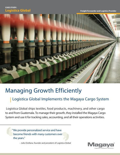 Logistica Global - Magaya