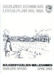 Lokalplan nr. 86 A - Fredensborg Kommune