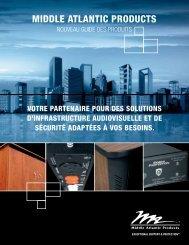Nouveau Guide Des Produits - Middle Atlantic