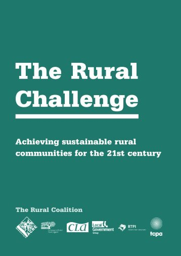 The Rural Challenge - West Cheshire Together