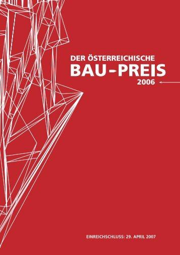 IMMO 0107 Folder RZ.indd - Der Österreichische Bau-Preis