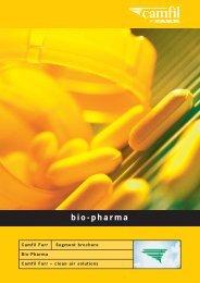 Bio-Pharma Segment Brochure - Filterair.info