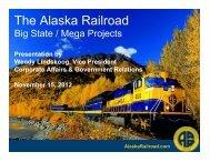 AlaskaRailroad.com - Resource Development Council