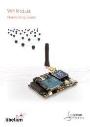 Wifi Networking Guide - Libelium
