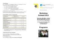 Workshop Echtzeit 2012 Kommunikation unter Echtzeitbedingungen