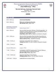 Pharmacogenetics Research Network (PGRN ... - Blsmeetings.net
