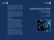 EUROPEAN POLITICS ONLINE - Policy Documentation Center
