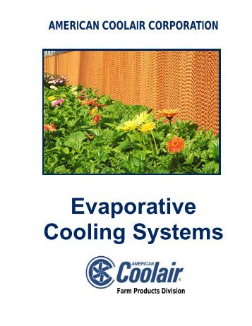 Evaporative Cooling Systems - American Coolair