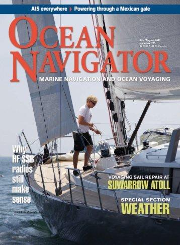 July/August 2012 Issue No. 203 www.OceanNavigator.com