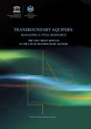 Transboundary aquifers: managing a vital resource ... - Hydrology.nl