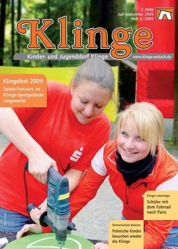 Klingefest 2009 - Kinder- und Jugenddorf Klinge, Seckach