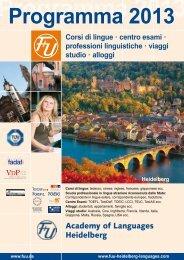 Corsi di lingue · centro esami · professioni linguistiche · viaggi studio ...