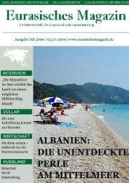 Eurasisches Magazin – Juli 2009 · Seite 1 © Eurasischer Verlag ...