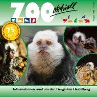 Zoo aktuell 1 / 2008 - Tiergartenfreunde Heidelberg eV