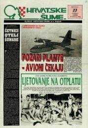 HRVATSKE ŠUME 23 (18.8.1993.)