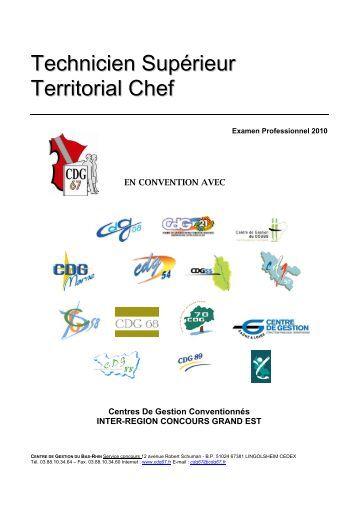 Grande couronne cnfpt - Grille indiciaire technicien territorial 2015 ...