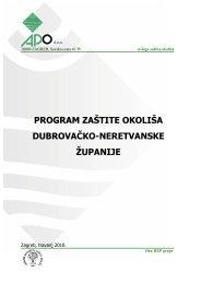 program zaštite okoliša dubrovačko-neretvanske županije