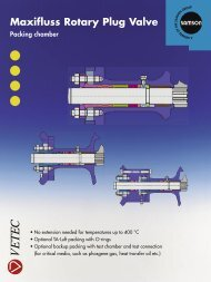 Maxifluss Rotary Plug Valve - Samson Regeltechniek