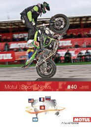Motul . Sport . News 40
