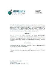 AyT.7 Promociones Inmobiliarias I, FTA - BME Renta Fija