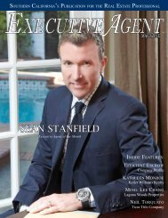 SEAN STANFIELD - Executive Agent Magazine