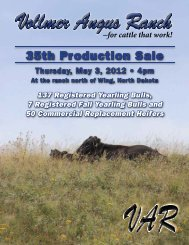 VAR - BILL PELTON Livestock, LLC