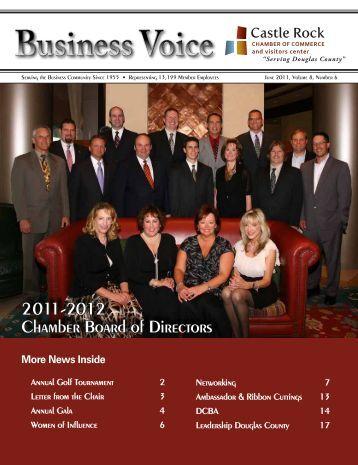 June 2011 - Castle Rock Chamber of Commerce