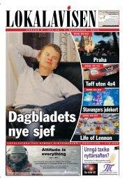 Life of Lennon Praha Tøff uten 4x4 Stavangers ... - Lokal-avisen.no