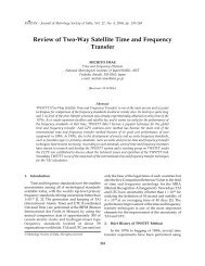 Review of Two-Way Satellite Time and Frequency Transfer