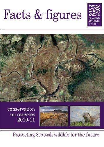 Facts and Figures report - Scottish Wildlife Trust