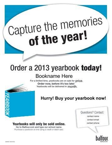 Yearbook Order Form - North Warren Regional School District
