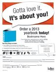 Yearbook Order Form - North Warren Regional School District - Page 6