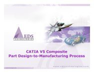 CATIA V5 Composite Part Design-to-Manufacturing Process