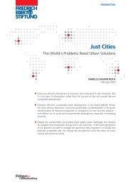 Just cities - Bibliothek der Friedrich-Ebert-Stiftung