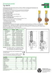 Datenblatt Typ 06478 - HENNLICH