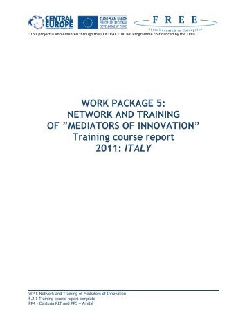 ITALY - FREE - From Research to Enterprise