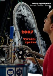 Výroční zpráva - Univerzita Palackého v Olomouci
